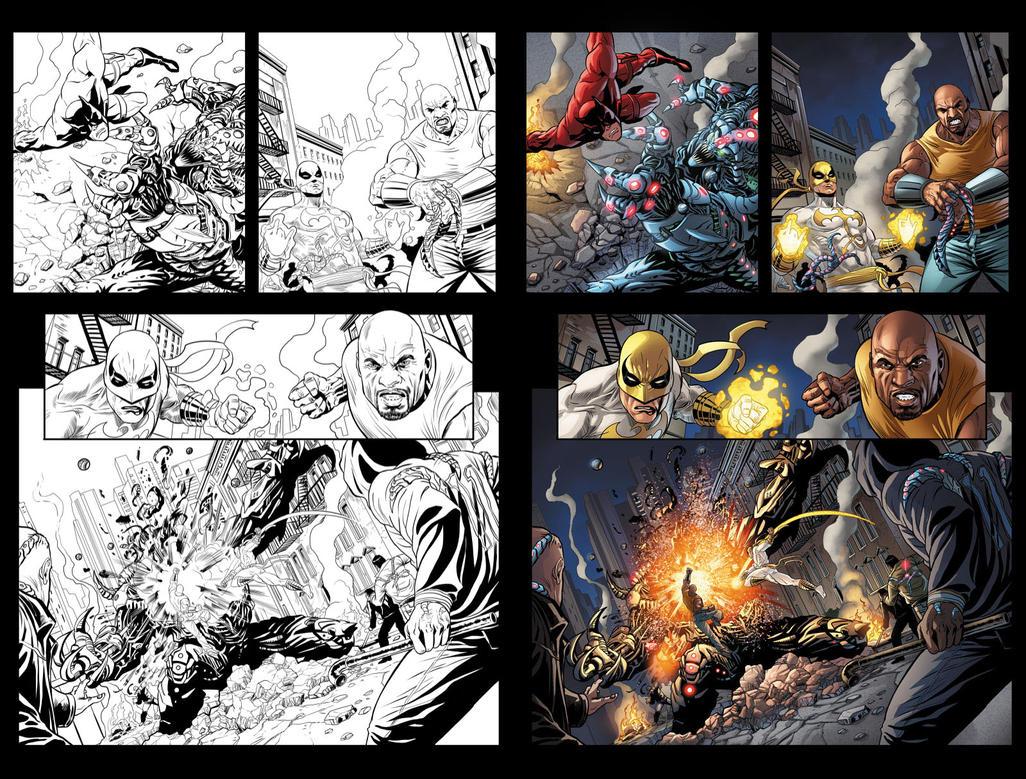 Zing! Avengers #3 page 7 by JavierMena