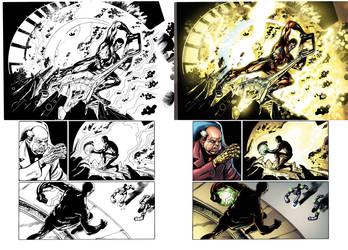 Captain Midnight #10 page 15 by JavierMena
