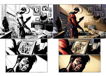 Captain Midnight #11 page 2 by JavierMena