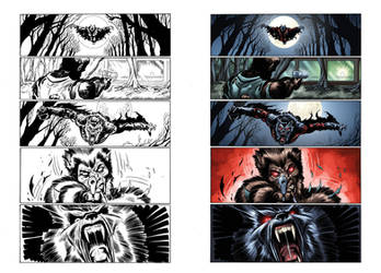 Captain Midnight #16 page 17 by JavierMena