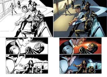 Captain Midnight #17 page 12 by JavierMena
