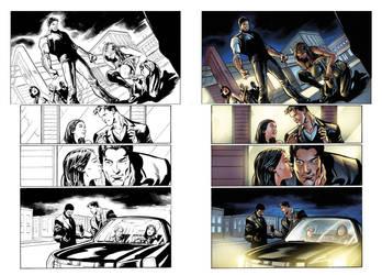 Captain Midnight #17 page 13 by JavierMena
