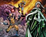 Rogue and X-Men colors