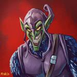 Green Goblin sketch