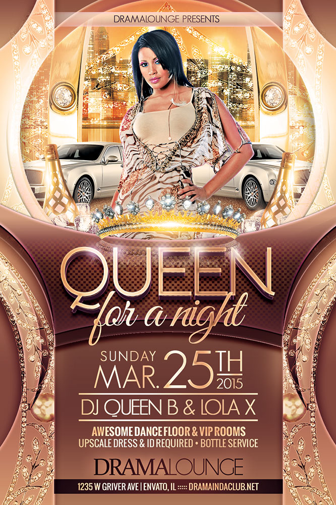 Queen Flyer by hueyangdesigns