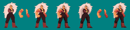 Jasper WIP (now with Shading) by akumath