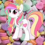 Valentine Candy Heart Pony Adoptable CLOSED