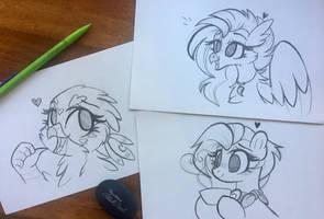 Patreon Reward Sketches (Batch 1!)