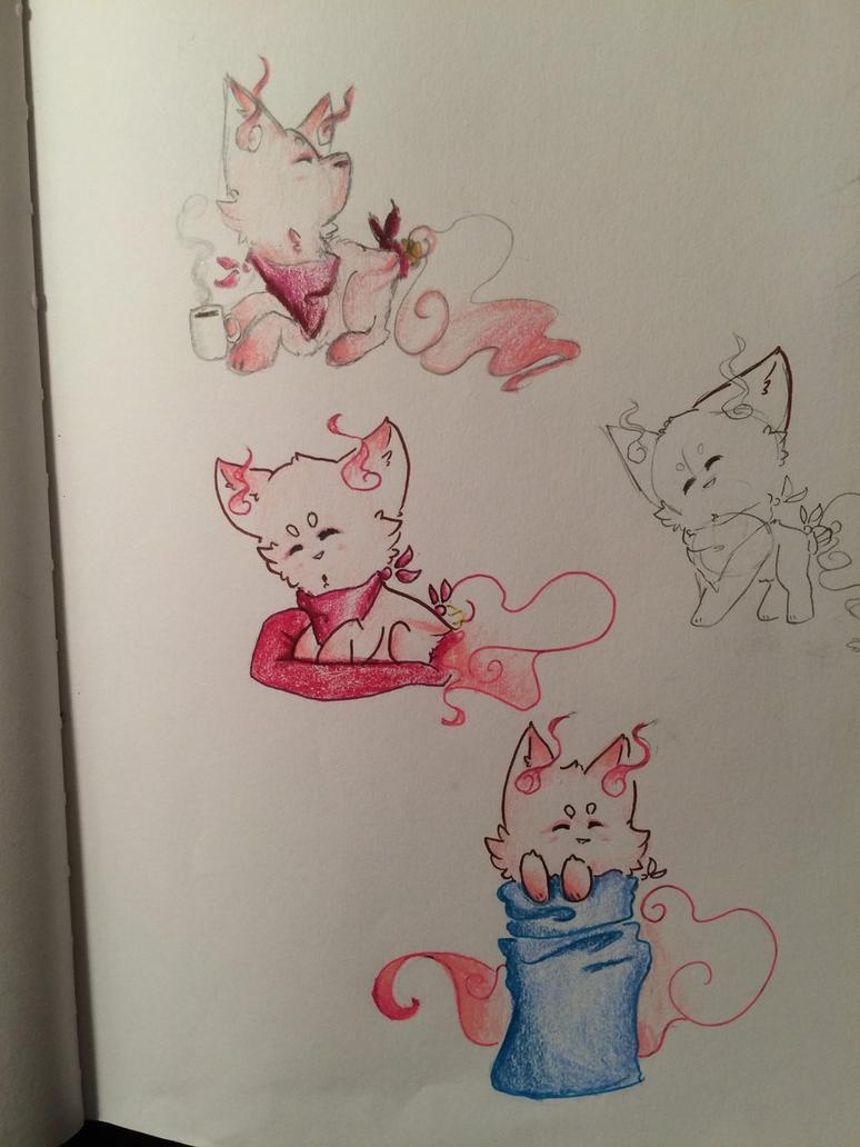 Glitter sketches by alistarandfriends