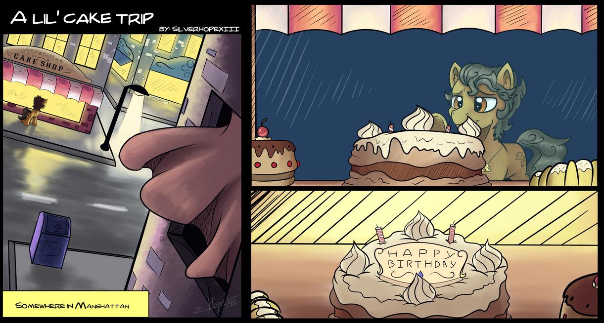 A lil'cake trip by SilverHopeXIII