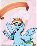 Rainbow Dash's Big Day by SilverHopeXIII