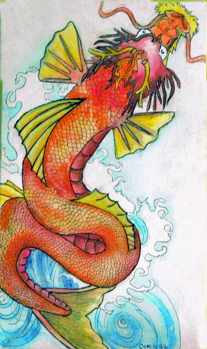 Dragon koi fish for Dragon koi fish