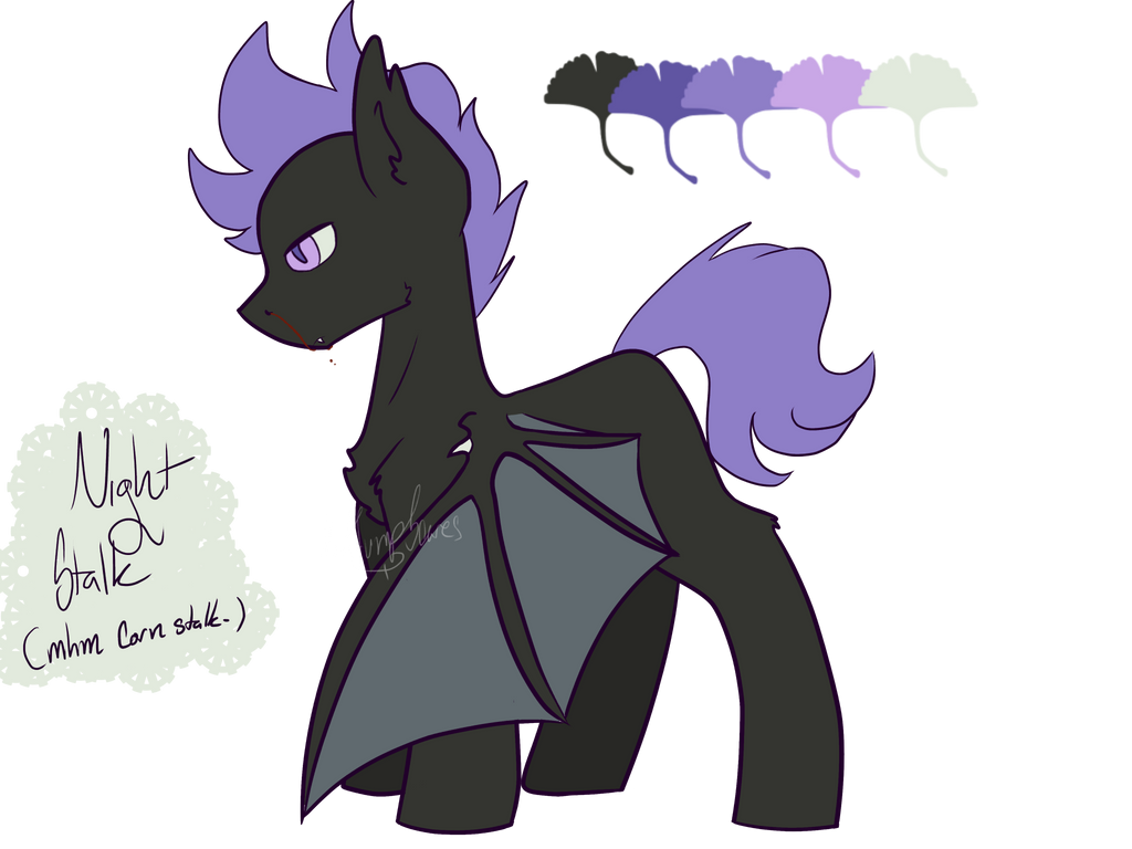 CP Pone OC - Night Stalk by MadJumpScares