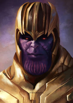 Thanos the Mad Titan