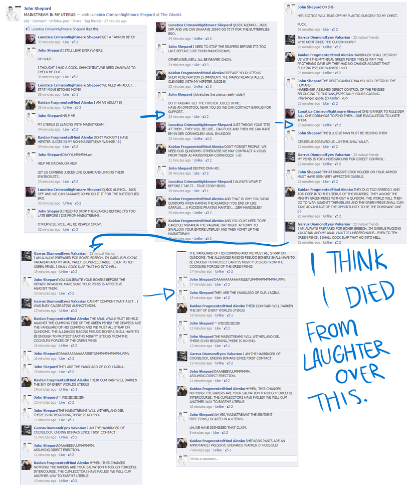 THE BEST FACEBOOK STATUS COMMENTS EVER. By OMGnoewai ...