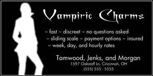 Vampiric Charms