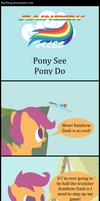 Rainbow Tales: Pony See Pony Do