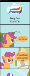 Rainbow Tales: Pony See Pony Do by Narflarg