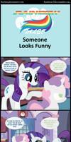 Rainbow Tales: Someone Looks Funny
