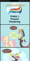 Rainbow Tales: Pinkies Present Pondering
