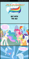 Rainbow Tales: Out With the Old by Narflarg