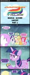 Rainbow Tales: Magical Alicorn Larceny Part 2 by Narflarg