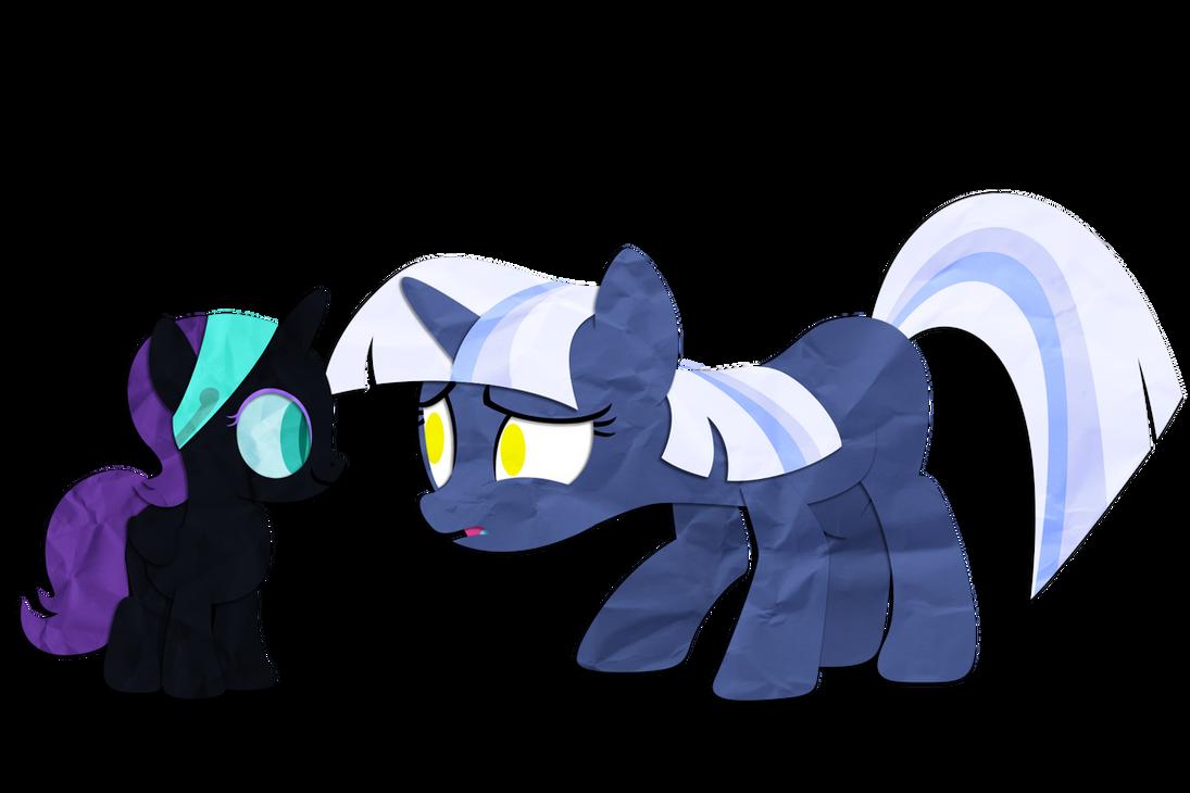 Gift: Nyx and Silverlay by Narflarg