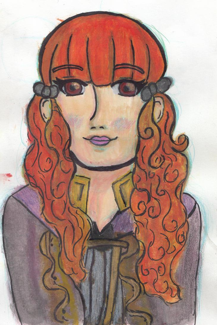 Fire Emblem Awakening: Glynda OC by SolAlli