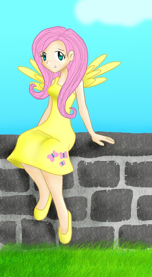 Fluttershy by AKnightOfNee