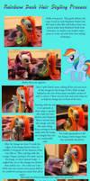 Rainbow Dash Hair Tutorial