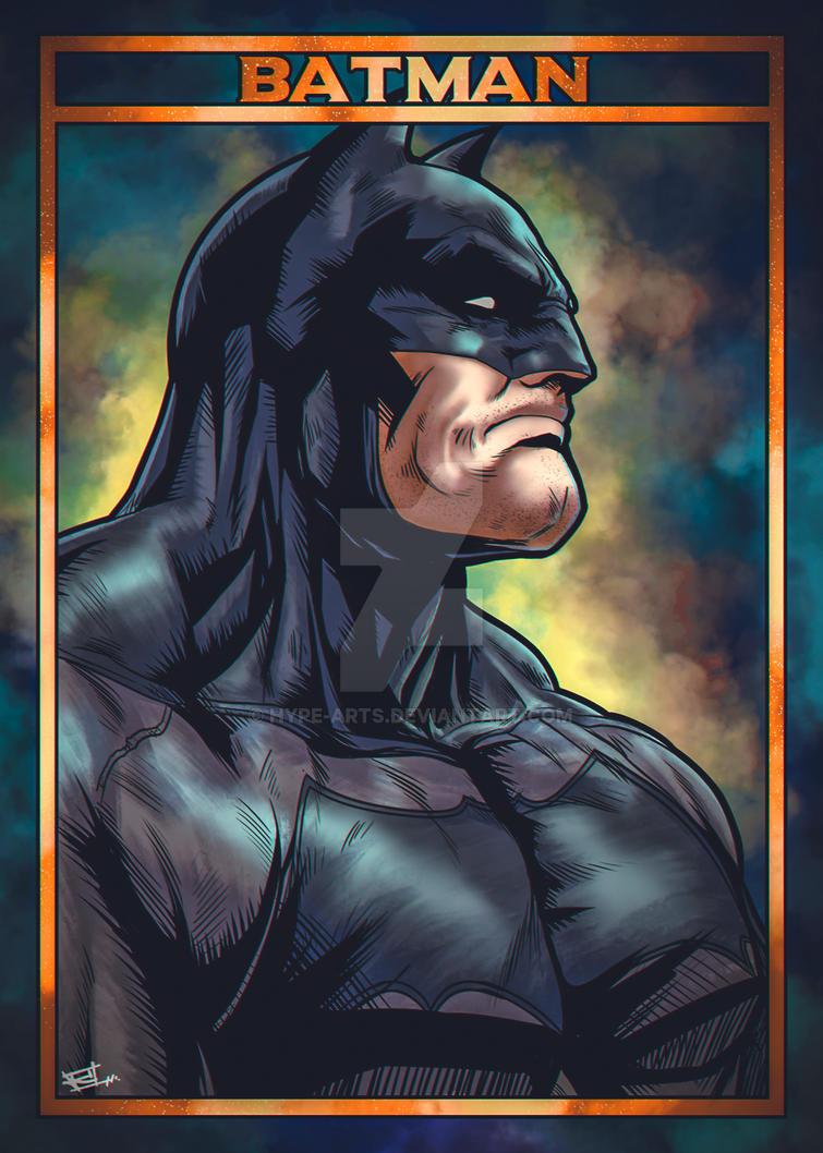 Batman fan art by Hype-Arts