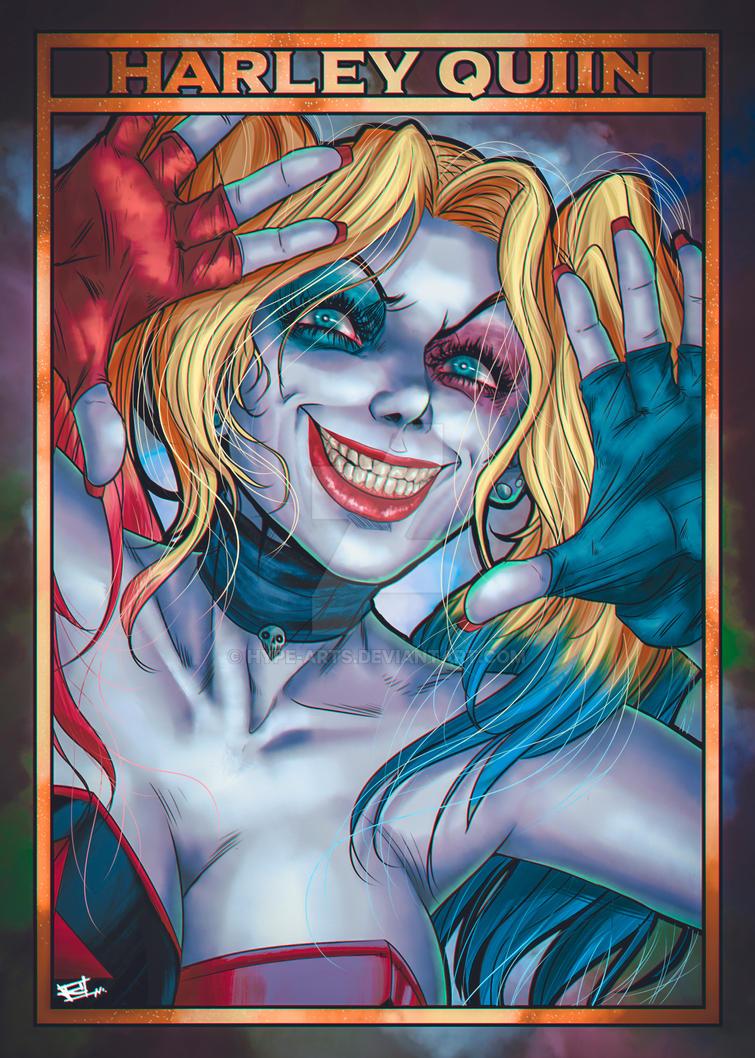 Harley Quiin fan art by Hype-Arts