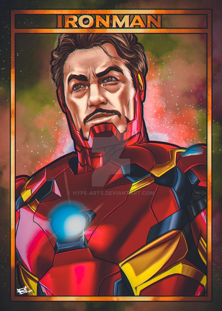 Ironman fan art by Hype-Arts