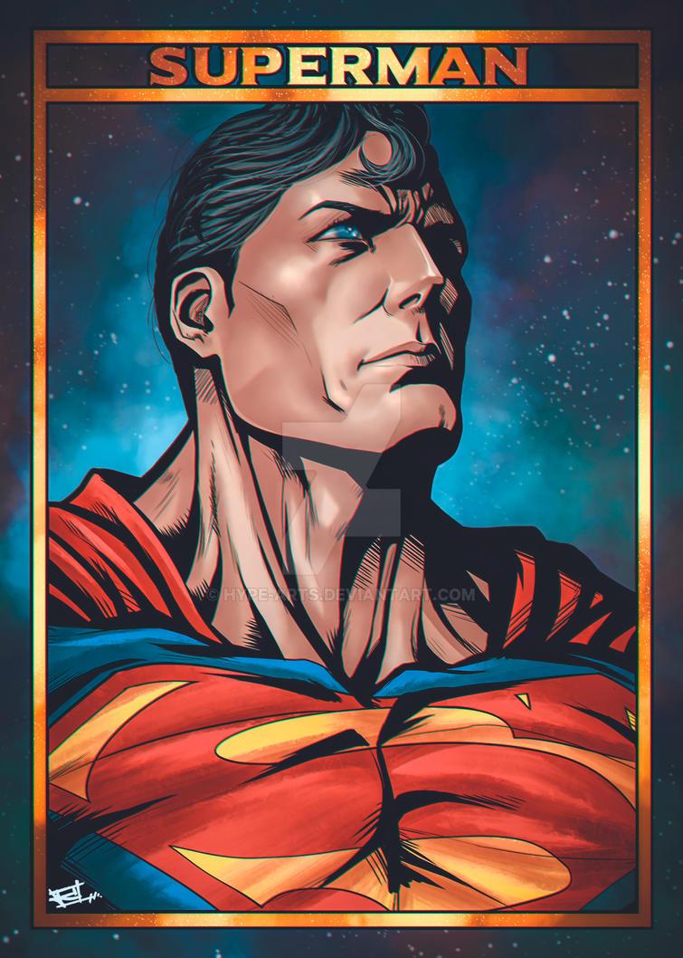 Superman fan art by Hype-Arts