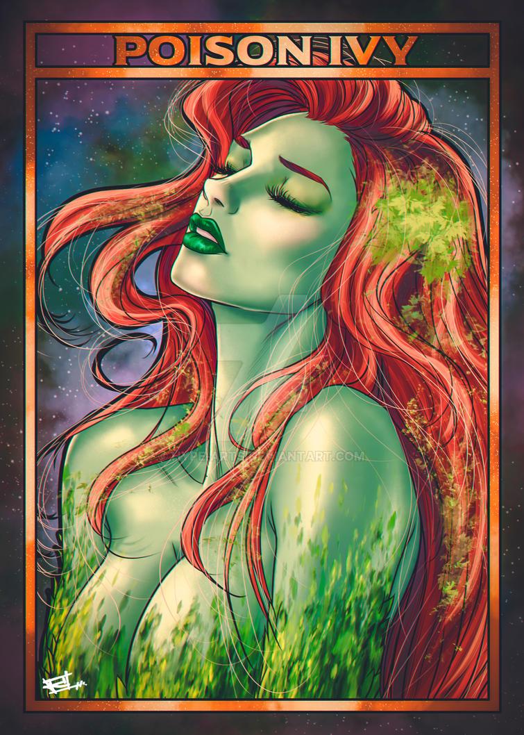 Poison Ivy fan art by Hype-Arts