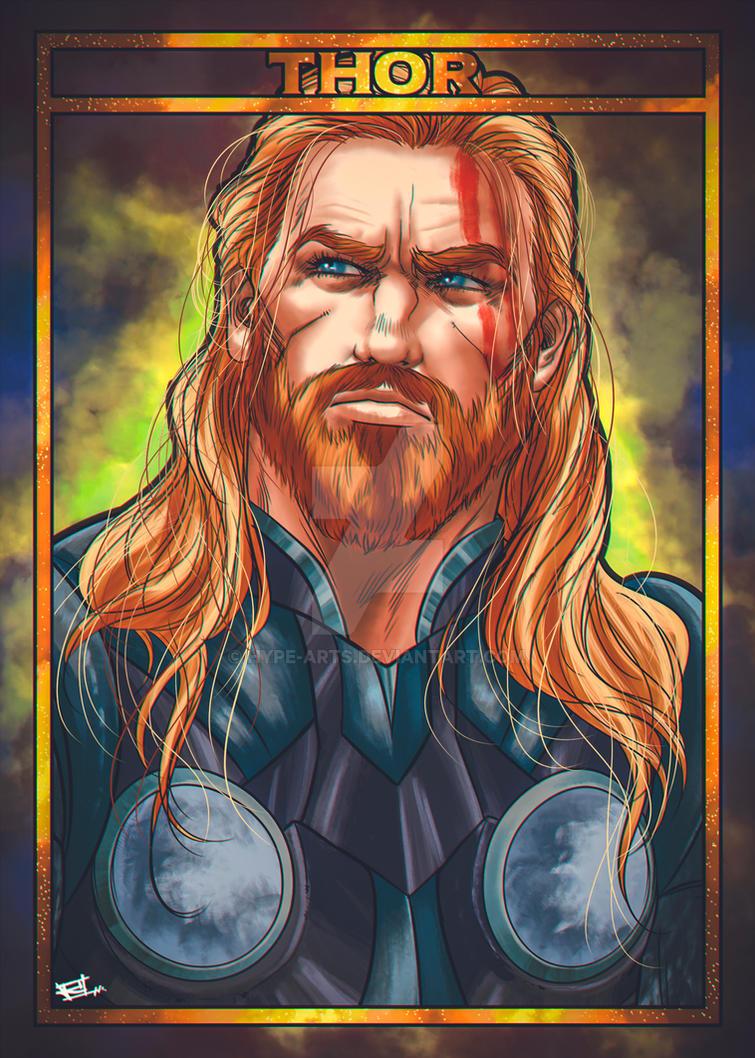 Thor fan art by Hype-Arts