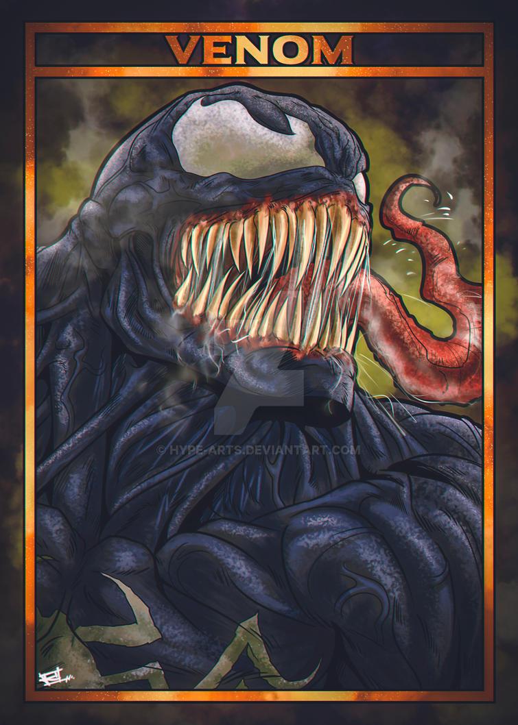 Venom fan art by Hype-Arts