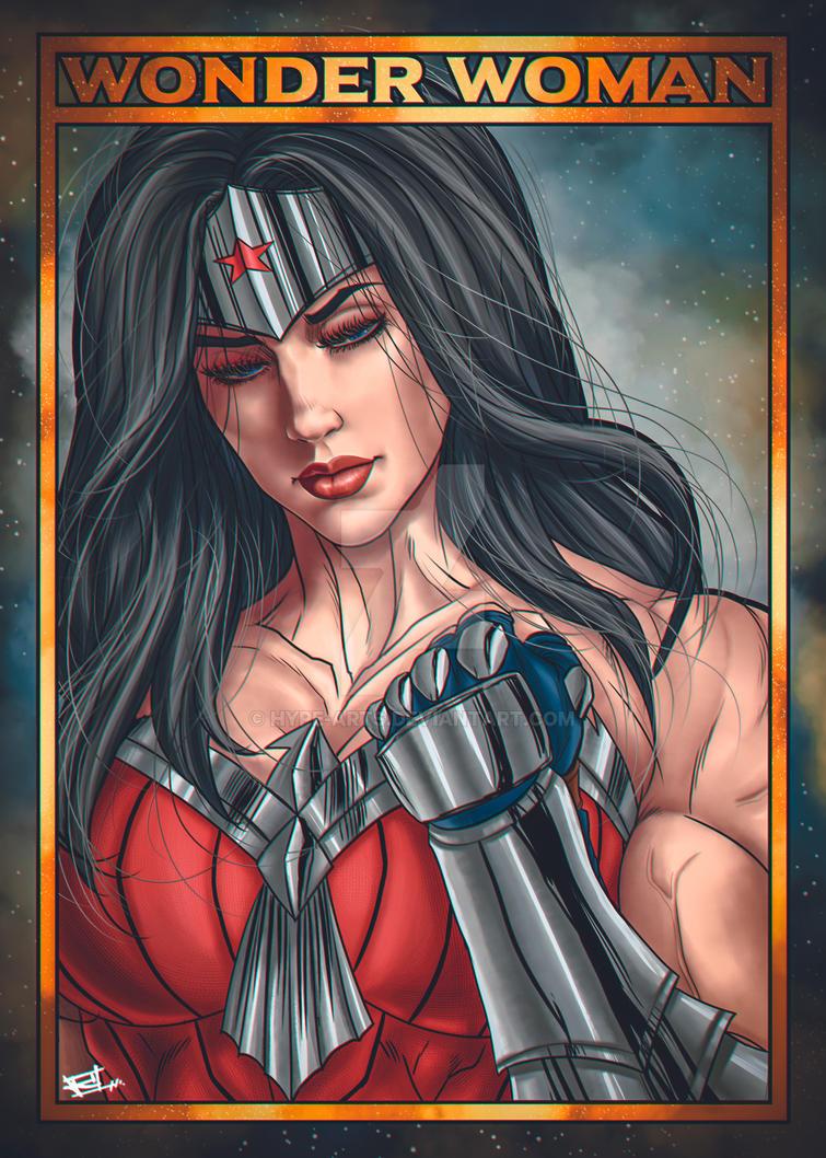 Wonder Woman fan art by Hype-Arts
