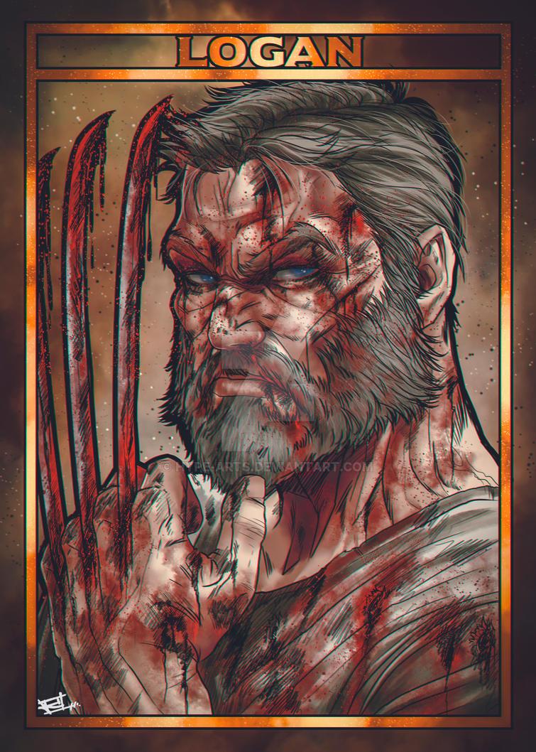 Logan fan art by Hype-Arts