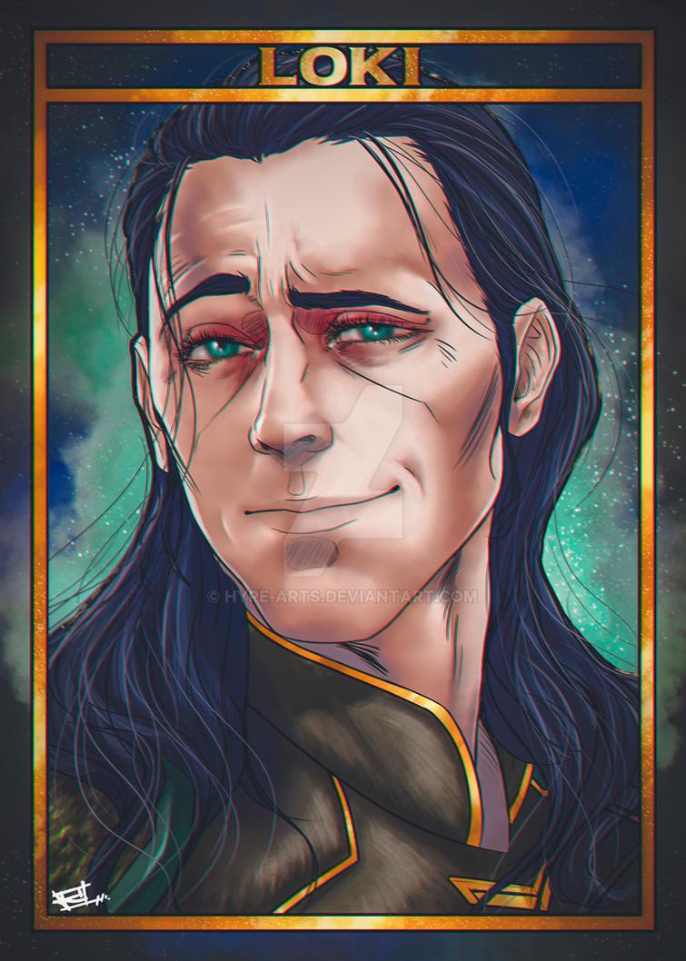 Loki fan art by Hype-Arts