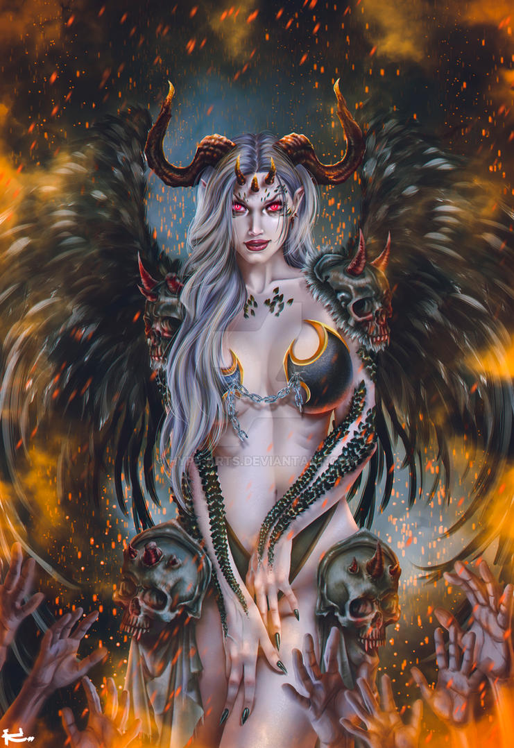 Demon Artwork by Hype-Arts