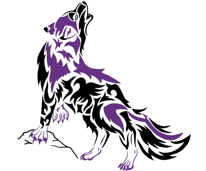 Tribal Wolf Wallpaper: Custom Tribal Wolf By Shayla06 On DeviantArt