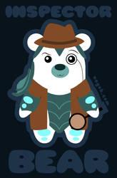 Inspector Bear by Nayoh