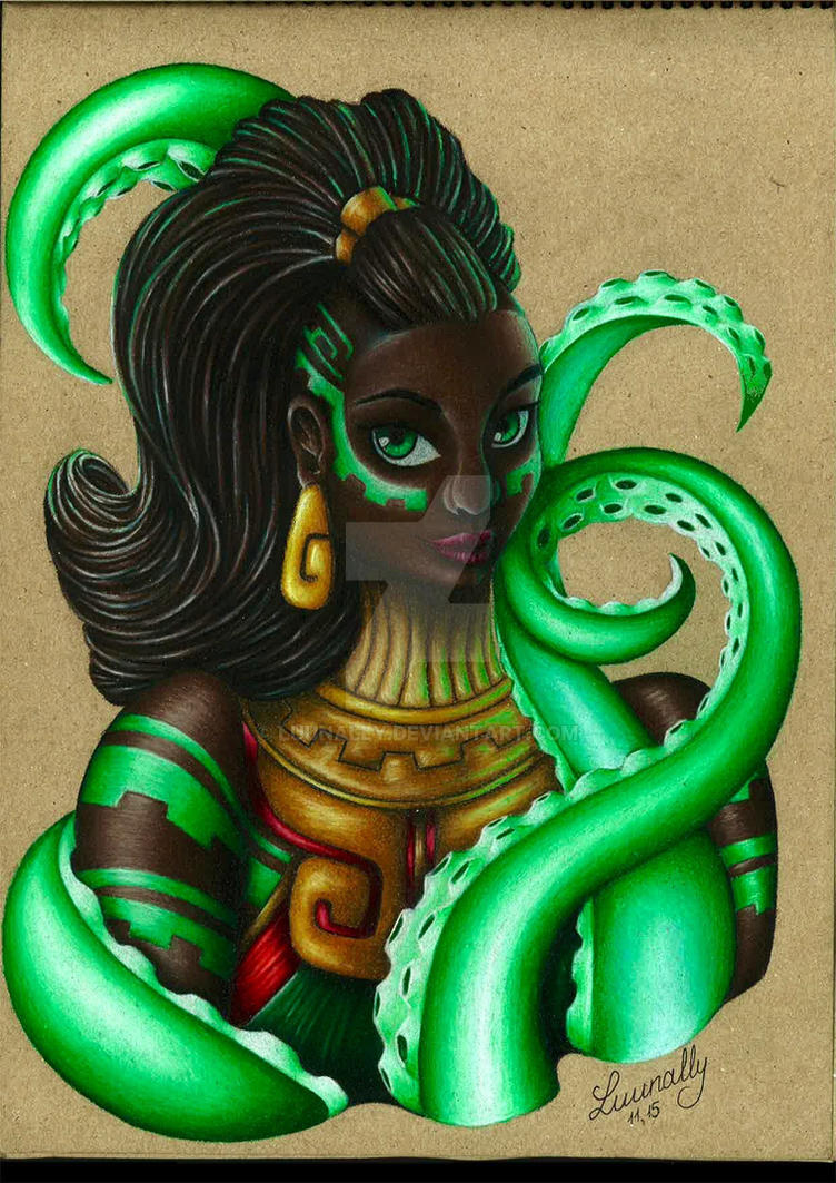 Illaoi, The Kraken Priestess by Luunally