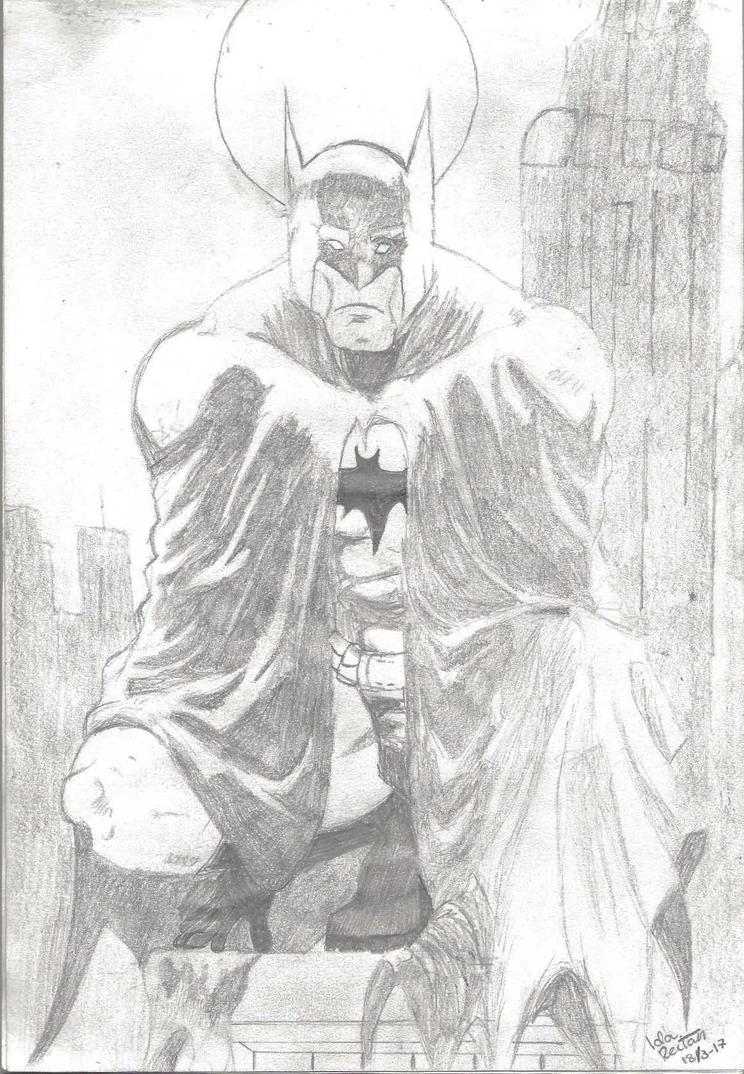 Batman by idareitan
