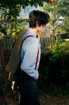 The Doctor - Matt Smith costume side on