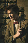 Matt Smith - The Doctor Cosplay - With Sonic