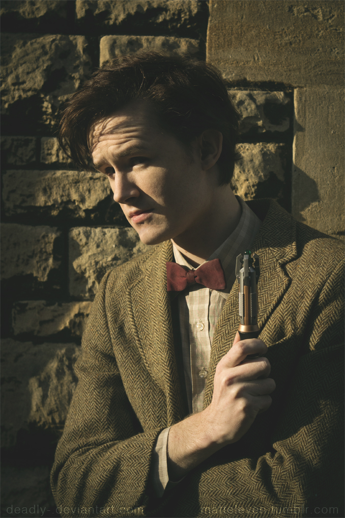 Matt Smith - The Doctor Cosplay - With Sonic by Matteleven