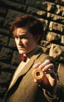 Matt Smith - The Doctor Cosplay - Jammie Dodger by Matteleven