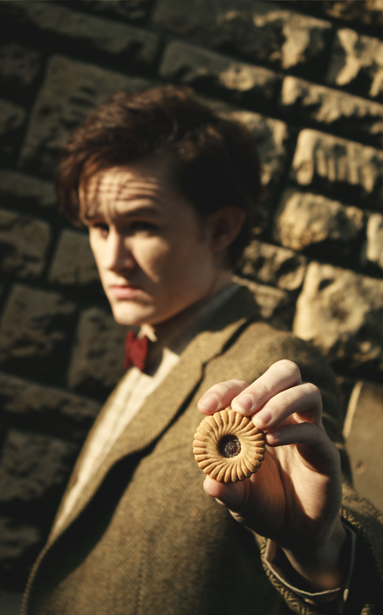 Matt Smith - The Doctor Cosplay - Jammie Dodger by Matteleven